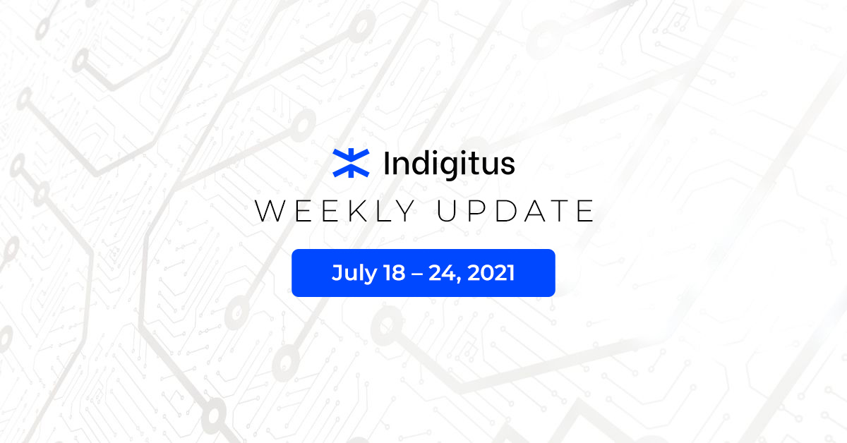 """Featured image for """"Indigitus Week Update: July 18 – 24"""""""
