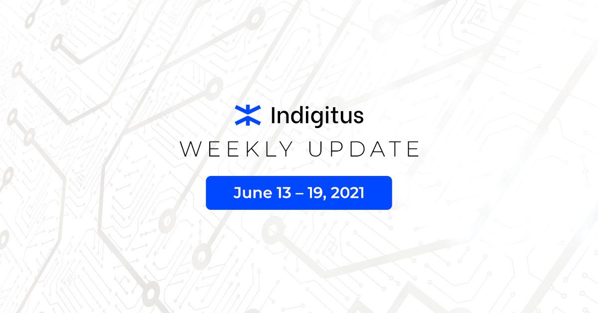 "Featured image for ""Indigitus Week Update: June 13 – 19, 2021"""